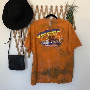 Harley Davidson tie-dye Texas T-shirt